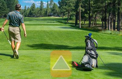 Audrüstung für Golfer